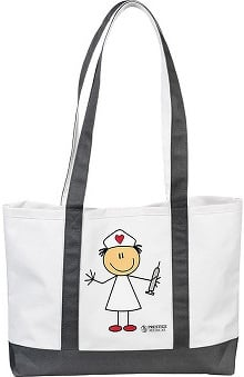 Prestige Medical Large Canvas Tote Bag