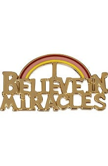 "Prestige Medical  ""Believe In Miracles"" Professional Tac Pin"