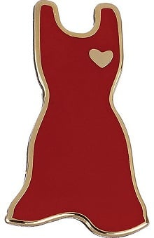 "Clearance Prestige Medical ""Red Dress"" Professional Tac Pin"
