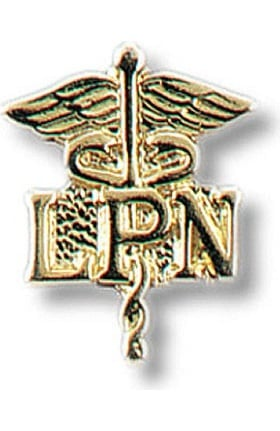 Prestige Medical LPN - Licensed Practical Nurse On Caduceus Tac Pin