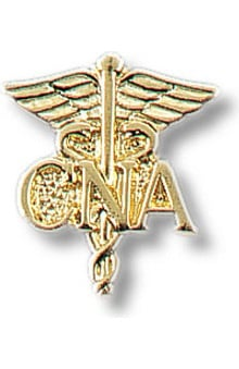 Prestige Medical CNA - Certified Nursing Assistant On Caduceus Tac Pin