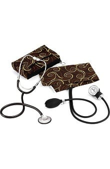 Prestige Medical Basic Aneroid Sphygmomanometer with Single Head Stethoscope Kit