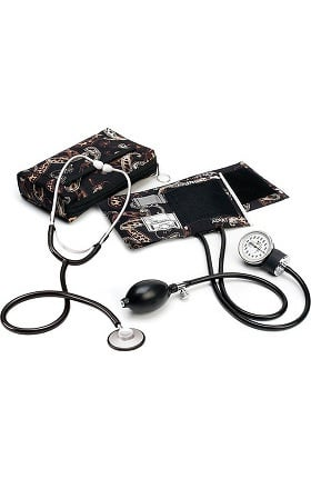 Clearance Prestige Medical Basic Aneroid Sphygmomanometer with Single Head Stethoscope Kit