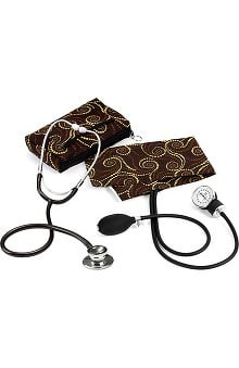 Prestige Medical Basic Aneroid Sphygmomanometer with Dual Head Stethoscope Kit