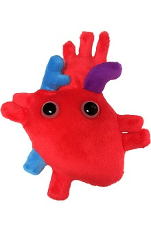 Prestige Medical GIANTmicrobes® Heart Organ Plush Doll