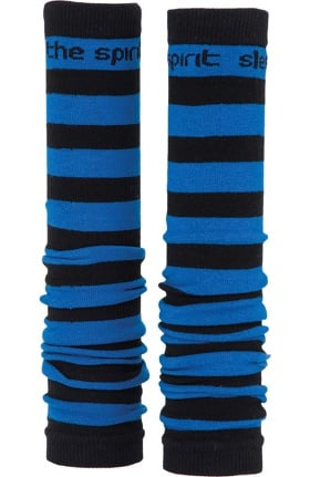 Med Sleeve Black with Royal Stripes