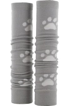 Med Sleeve Grey with White Paw
