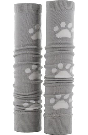 Med Sleeve Women's Grey with White Paw