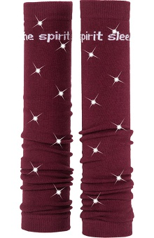 Med Sleeve Maroon with Bling
