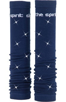 Med Sleeve Navy with Bling