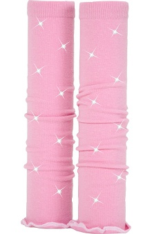Med Sleeve Pink with White Ruffle with Bling
