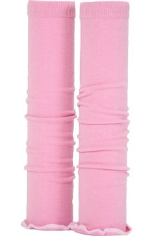 Med Sleeve Pink with White Ruffle