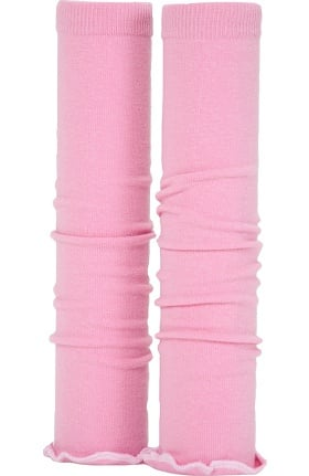 Med Sleeve Women's Pink with White Ruffle