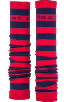 Med Sleeve Red and Navy Stripes
