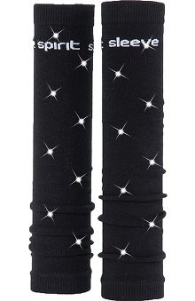 Med Sleeve Black with Bling