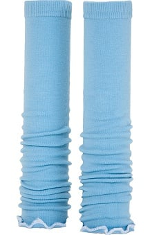 Med Sleeve Sky with Ruffle
