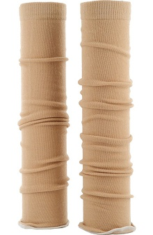 Med Sleeve Sand with Ruffle