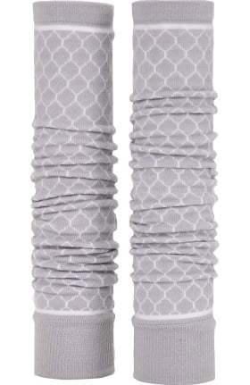 Med Sleeve Soft Grey Trellis