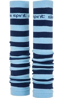 Med Sleeve Sky and Navy Stripes