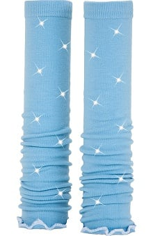 Med Sleeve Sky with Ruffle with Bling