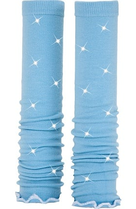 Med Sleeve Women's Sky with Ruffle with Bling