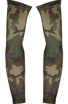 Med Sleeve Woodland Camo Green