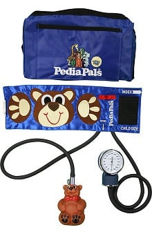 Pedia Pals Child Size Benjamin Bear Blood Pressure Kit with Carrying Case