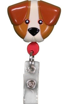 Retractamals: Pedia Pals Dog Retractamals Retractable Badge Holder