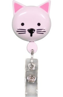 Retractamals: Pedia Pals Kitty Retractamals Retractable ID Badge Holder
