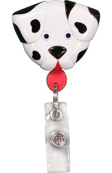 accessories: Pedia Pals Dalmation Retractamals Retractable ID Badge Holder
