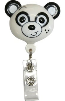 accessories: Pedia Pals Panda Retractamals Retractable ID Badge Holder