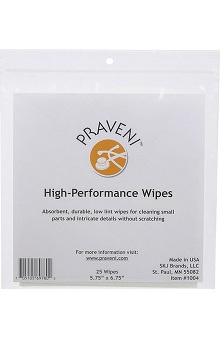 Praveni High Performance Wipes