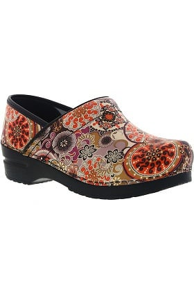 Signature by Sanita Women's Cambrie Printed Leather Clog