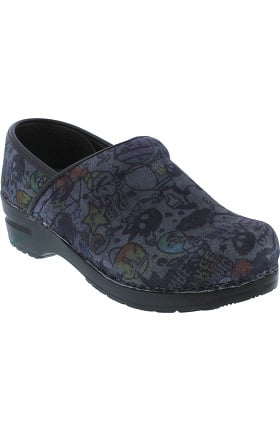 Original by Sanita Women's Pastora Professional Printed Suede Clog