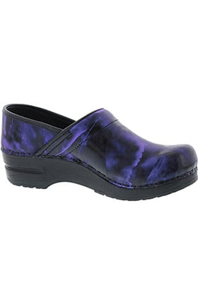 Smart Step by Sanita Women's Piper Professional Printed Leather Clog