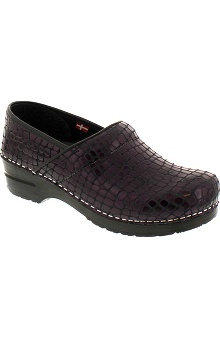 Clearance Sanita Women's Professional Croco Clog