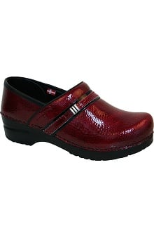 Original by Sanita Women's Phoebe Embossed Patent Professional Shoe