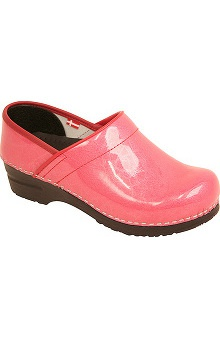 shoes: Women's Professional Clog by Sanita Pearl Patent Clog