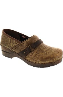 Original by Sanita Women's Printed Leather Clog