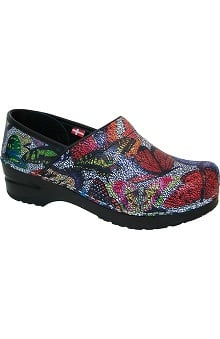 Clearance Original by Sanita Women's Printed Leather Clog
