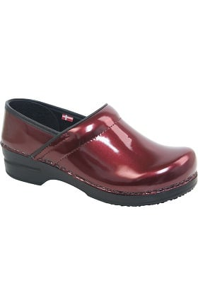 Smart Step by Sanita Women's Susan Printed Patent Professional Clog