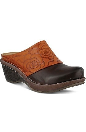 Spring Step Women's Bande Open Back Clog
