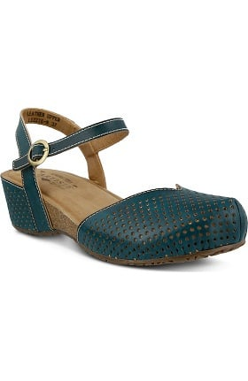 Spring Step Women's Lizzie Open Back Strap Clog