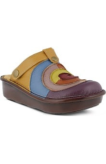 shoes: Spring Step Women's Lollipop Leather Clog