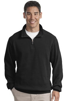 Port Authority® Unisex ¼ Zip Flatback Rib Pullover