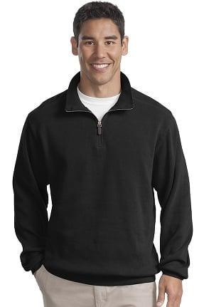 Port Authority® Unisex ¼ Zip Flatback Rib Pullover
