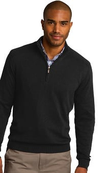Port Authority® Unisex ½ Zip Knit Pullover