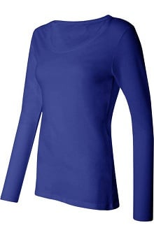 Think Medical Women's Silky Long Sleeve Underscrub T-Shirt