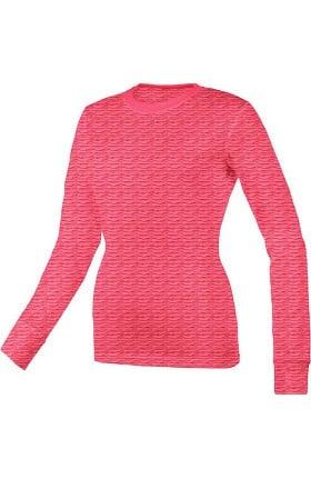 Think Medical Women's Scratch Burn Out Underscrub T-Shirt