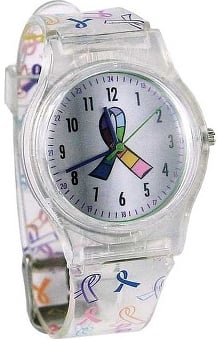Awareness by Think Medical Womens Multi Ribbon Watch